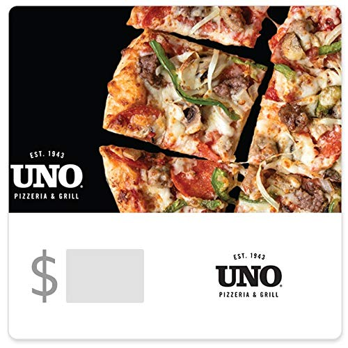 Uno Pizzeria & Grill Gift Cards - E-mail Delivery