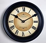 Galway Black Wall Clock, Available in 8 Sizes, Most Sizes Ship The Next Business Day,