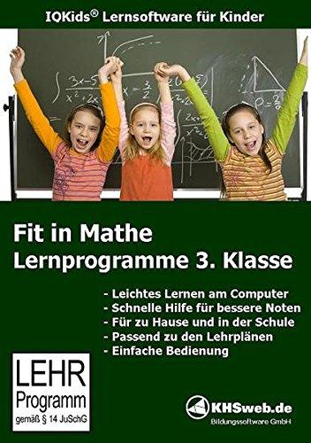 Fit in Mathe: Lernprogramme 3. Klasse - Windows 10 / 8 / 7 / Vista / XP: Kontrolliere selbst! - Mit den bewährten Hausaufgaben-Hilfen