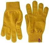 Levi's Ben Touch Screen Gloves Guantes para clima frío, amarillo, S para Hombre
