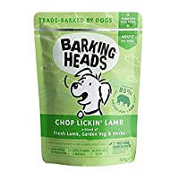 """85% NATURAL GRASS-FED LAMB - Our Chop Lickin' Lamb wet dog food is made with 100% natural grass-fed lamb blended with a seriously yummy combination of garden veg and herbs, this lamb dinner isn't called chop lickin"""" for nothing! NATURAL INGREDIENTS -..."""