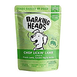 "85% NATURAL GRASS-FED LAMB - Our Chop Lickin' Lamb wet dog food is made with 100% natural grass-fed lamb blended with a seriously yummy combination of garden veg and herbs, this lamb dinner isn't called chop lickin"" for nothing! NATURAL INGREDIENTS -..."