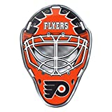 NHL - Philadelphia Flyers - Emblema per casco in alluminio resistente