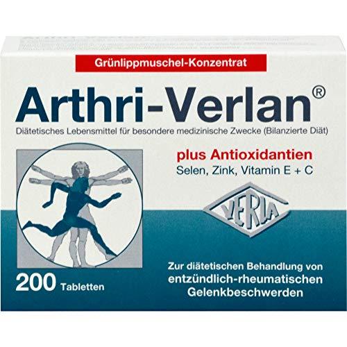 Arthri-Verlan Grünlippmuschel-Konzentrat Tabletten, 200 St. Tabletten