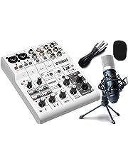YAMAHA ヤマハ / AG06 録音セット 動画配信 (高音質配信・録音セット)