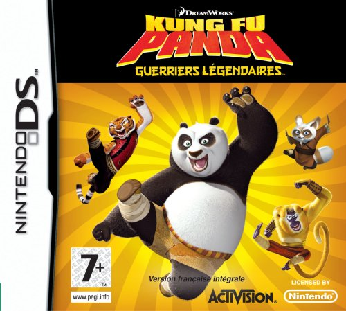 KUNG FU PANDA : GUERREROS LEGENDARIOS / Nintendo DS Juego EN ESPANOL Compatible Nintendo DS LITE-DSI-3DS-2DS-3DS XL-2DS XL ** ENTREGA 3/4 DÍAS LABORABLES + NÚMERO DE SEGUIMIENTO **