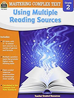 Mastering Complex Text Using Multiple Reading Sources Grd 2 by McRae Karen (2015-03-01) Paperback