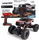 FunTomia Maximum RC 4WD Monster truck Voiture télécommandée pour enfants à partir de 8 ans