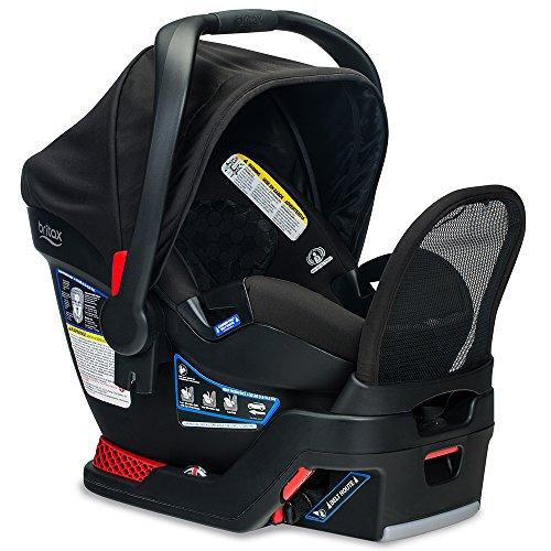 BRITAX B-Safe Endeavours Infant Car Seat - Rear Facing   4 to 35 Pounds - Reclinable Base, 3 Layer Impact Protection, Circa