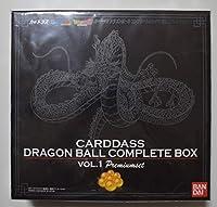 ドラゴンボールカードダス コンプリートボックス Vol.1 プレミアムセット CARDDASS DRAGONBALL COMPLETE BOX VOL.1 Premium set