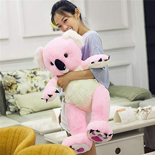 JMKHY lovely pink koala plush toy soft doll throw pillow 70cm
