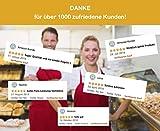 DESERMO 5er Set Premium Vorbinder 60cm x 80cm (L X B) ✓ Hochwertige Taillen-Schürze für Frau & Mann ✓ 100% Reine Baumwolle ✓ Große Farbauswahl ✓ 210g/m² (Weiß) - 7