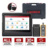LAUNCH X431 V+ Bi-Directional Scanner Full Systems Diagnostic Scan Tool Actuation Test, Key Programming, ECU Coding, TPMS Reset, SAS, EPB, ABS Bleeding Remote Diagnostc 2 Years Update