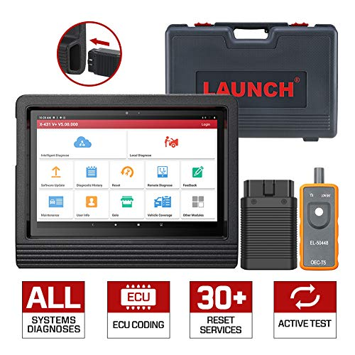 For Sale! LAUNCH X431 V+ Bi-Directional Scanner Full Systems Diagnostic Scan Tool Actuation Test, Ke...