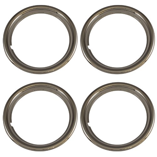 Set of 4 Chrome Plated ABS Plastic 15