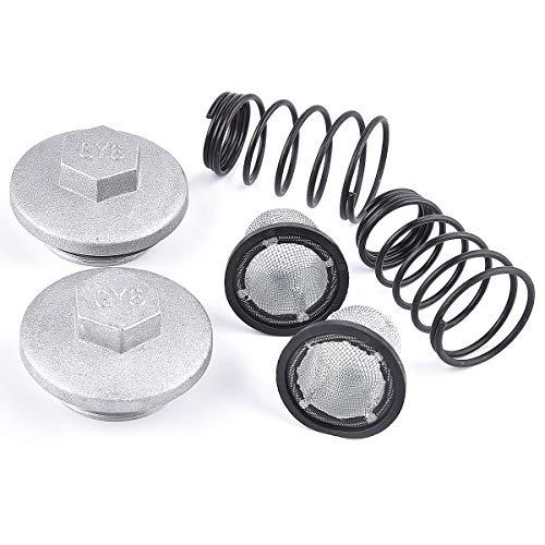 2 pack of GY6 50cc 125cc 150cc Oil Screen Cleaner Cap Drain Plug...