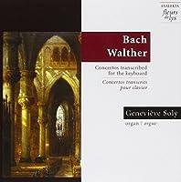 Concertos Transcrits Clavier