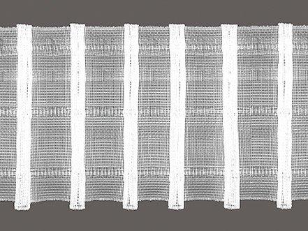 Unbekannt Bleistift-Faltenband 75 mm breit Zugabe 1:2,5