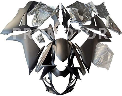 ZXMT Motorcycle Fairing Kit Matte Black Fairings for Suzuki GSXR 600 GSXR 750 2011 2012 2013 2014 2015 2016 2017 2018 2019 (25 Pcs)