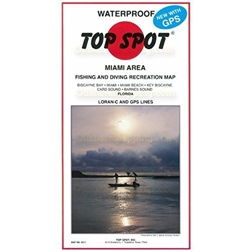Lista de los 10 más vendidos para mapa de pesca en miami