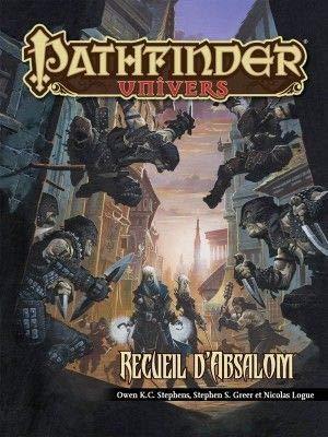 Blackbook Éditions - Pathfinder JDR - Recueil d'absalom