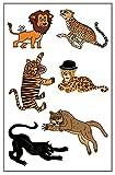 Premium Big Cat Tattoos: Lion, Cheetah, Tiger, Jaguar, Black Panther, Mountain Lion/Cougar