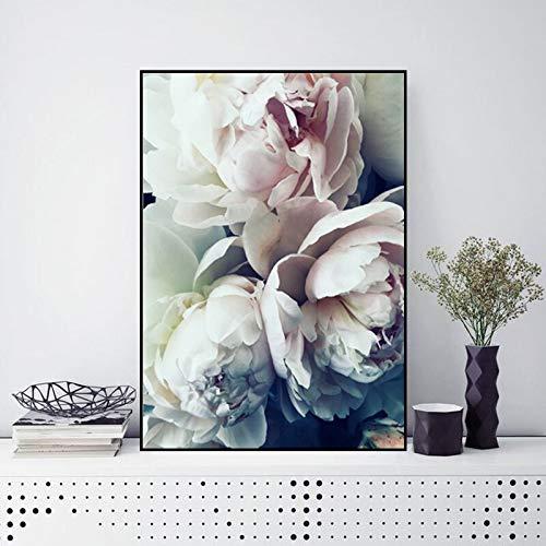 yaoxingfu Kein Rahmen Leinwandbilder Blumenbilder Nordischen Stil Poster Wohnkultur ng Wandkunst Für Wohnzimmer Kein Rahmen 30x45 cm