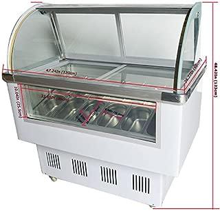 14 pan Gelato Ice Cream Freezer Display Cases Display chest freezer