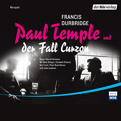 Paul Temple und der Fall Curzon audiobook cover art