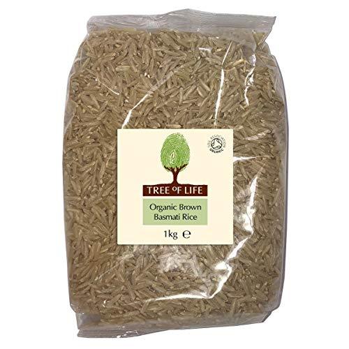 Tree of Life Organic Brown Basmati Rice, 1.00 kg