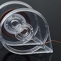 1PCSクリアネイルステッカーストライプテープラインケースネイルアートホルダーケースネイルロールストライピングラインに簡単に使用DIY美容ツールTR446