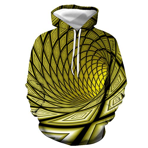 Morton PegfwaS Herbst Herren 3D Farbe Schwarzes Loch Wirbel Digitaldruck Mode...