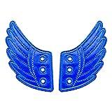 Novelty Wing Shoe Sneaker Angel Wings Shoes Accessories for Kids - Blue, 12.2 x 7 x 0.2cm