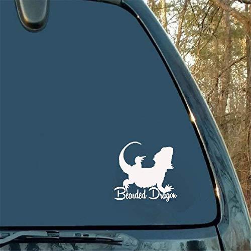 12,4 x 12cm grappige baarddagdecoratie sticker auto raam accessoires voor Ford Mondeo Skoda Cadillac Mitsubishi Asx
