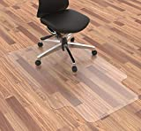 "Homek Chair Mat for Hardwood Floor, 48""x 30"" Office Chair Mat, Floor Mat for Office Chair, Clear Desk Chair Mat for Computer Desk"