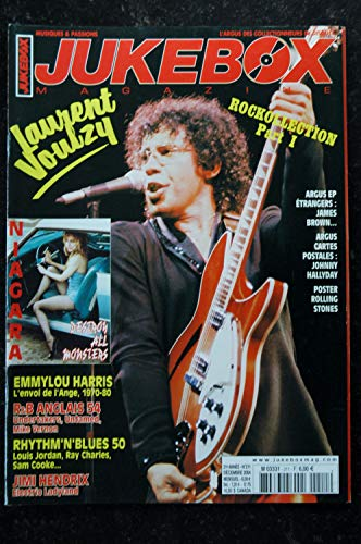 JUKEBOX 211 * 2004 * LAURENT VOULZY NIAGARA JIMI HENDRIX EMMYLOU HARRIS