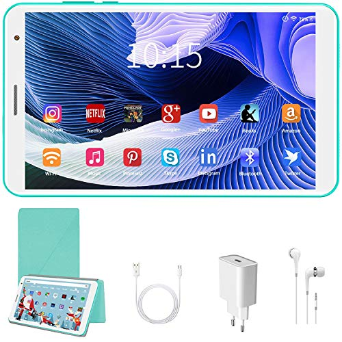 Tablet para Niños con WiFi 8 Pulgadas Android 10.0 3GB RAM+32GB ROM/128G - Certificación Google GMS Tableta Infantil y Juegos Educativos , Control Parental