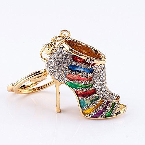 Uitla sleutelhanger voor schoenen met hak van zinklegering sleutelhanger sieraad accessoires decoratie voor telefoon auto sleutelhanger ketting