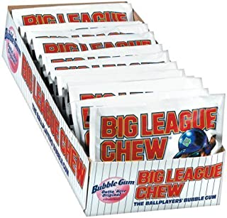 Big League Chew, Original, 2.1-Ounce Pouch, 12-Count