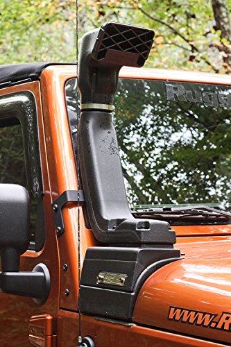 Rugged Ridge 17756.21 XHD Snorkel Kit; 07-18 Jeep Wrangler JK, 3.6L/3.8L