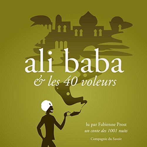 Page de couverture de Alibaba et les 40 voleurs, un conte des 1001 nuits