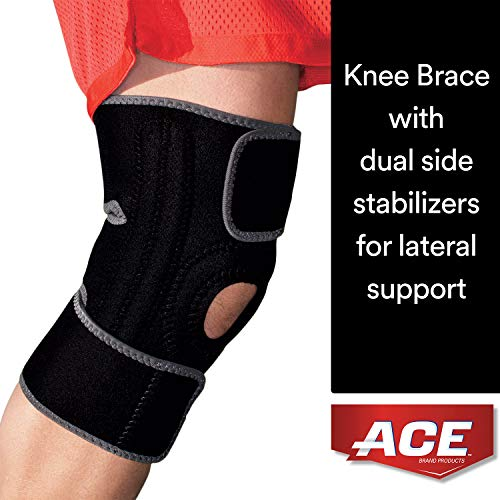 ACE Brand Knee Brace with Dual Side Stabilizers,...