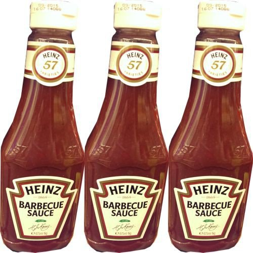 Heinz Gewürz-Sauce 57 Barbecue Sauce 3 Flaschen á 875ml