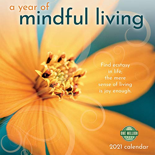 A Year of Mindful Living 2021 Wall Calendar