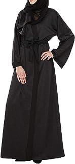 Arabeska Abaya For Women - M, Black