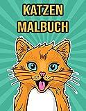 Katzen Malbuch: Für Kinder, Mädchen, Frauen - Katzen Geschenke