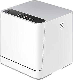 Lave-Vaisselle Compact De Bureau Smart Dishwasher, 6 Cycles De Lavage, Écran Tactile Luxueux, Conception Écoénergétique, F...