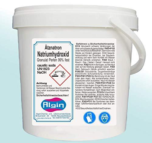 Algin cáustica Hidróxido de Sodio naoh 10 kg en 2 Tapa