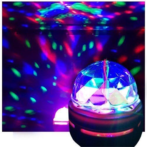 Bombilla LED de discoteca, luz de discoteca, luz para fiesta, efecto de bola de cristal – buques de Estados Unidos
