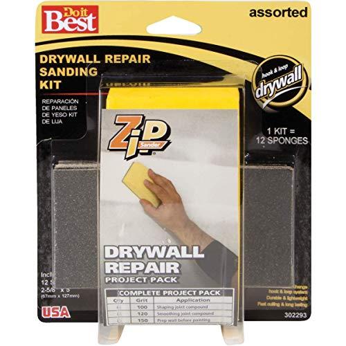 Do it Best Zip Sander Drywall Repair Hand Sanding Kit - 1 Each